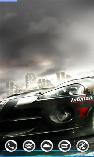 宝软3D主题-极速飞车