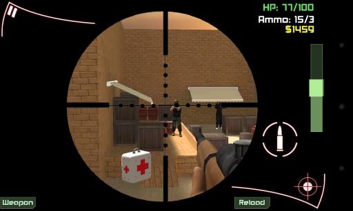 【免費射擊App】狙击使命:恐怖袭击-APP點子