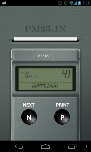 PM25.IN 空气质量监测仪 生活 App-癮科技App