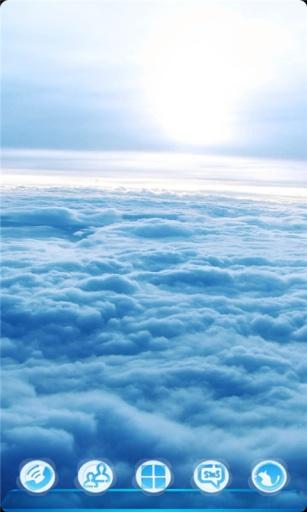 宝软3D主题-漫步在云端