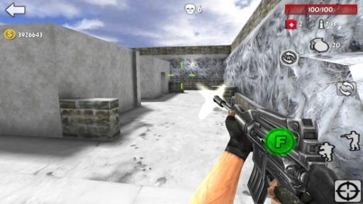 反恐突击:3D射击战争截图1