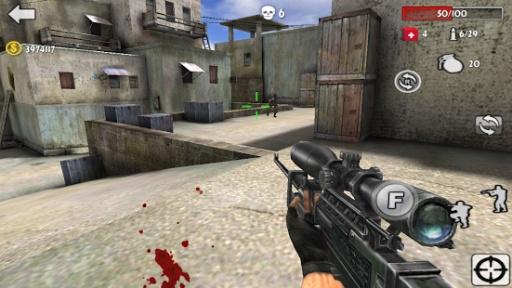 反恐突击:3D射击战争截图3