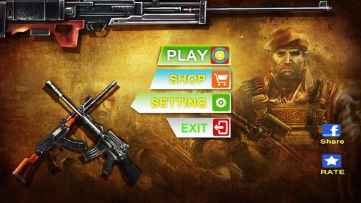 反恐突击:3D射击战争截图8