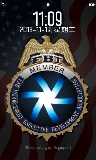 FBI指纹解锁截图1