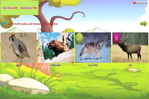 【免費益智App】闻声识动物-APP點子