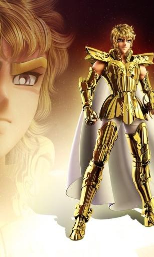 黄金圣斗士-桌面壁纸