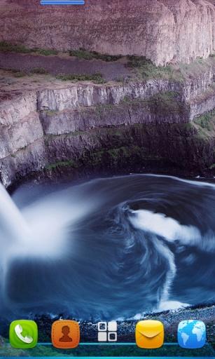 宝软3D主题-瀑布的漩涡