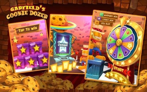 加菲猫推饼干|玩益智App免費|玩APPs
