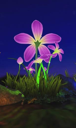 蝴蝶花3D壁纸截图3