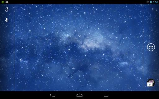 ios7 galaxy动态壁纸截图5
