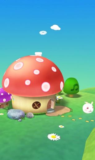 采蘑菇3D壁纸 個人化 App-癮科技App