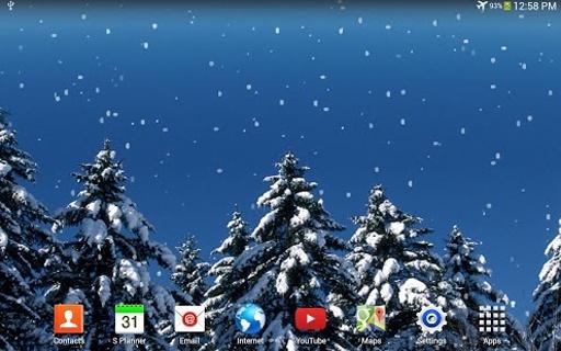 下雪動態壁紙