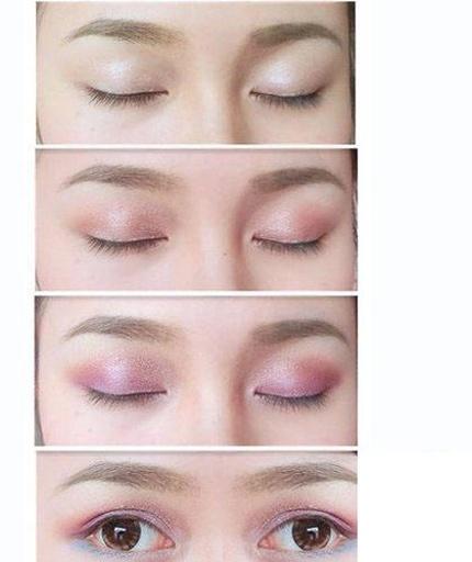 眼部化妆步骤说明眼睛步骤教你如何免费眼妆.