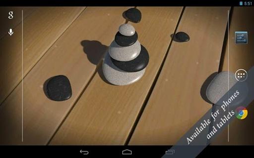 3D Zen Stones LWP Free截图1