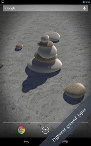 3D Zen Stones LWP Free截图3