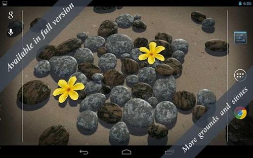 3D Zen Stones LWP Free截图5