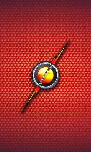 闪电侠的标志-桌面壁纸