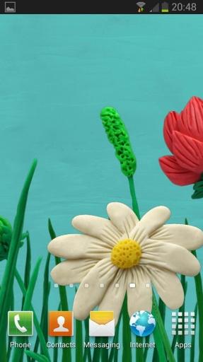 橡皮泥春天的花朵 (免费)