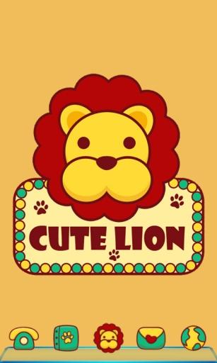 宝软3D主题-可爱小狮子