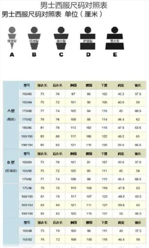 淘宝衣服型号尺码对照表手册下载 淘宝衣服型号尺码对照表手册安卓版下载 淘宝衣服型号尺码对照表手册 3.01手机版免费下载