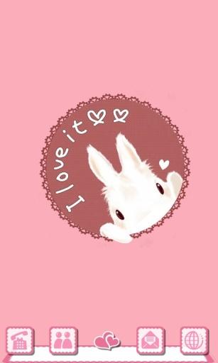 宝软3D主题-可爱小兔子