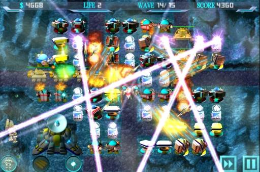 银河机器人防御截图4