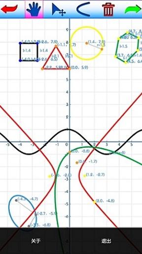 启凡数学画板截图0