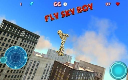 飞天超级男孩基地跳跃截图3