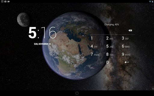 Earth & Moon in HD Gyro 3D截图2