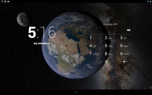 Earth & Moon in HD Gyro 3D截图6