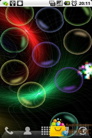 多彩泡泡动态壁纸