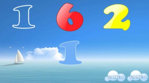 儿童游戏:数字截图0