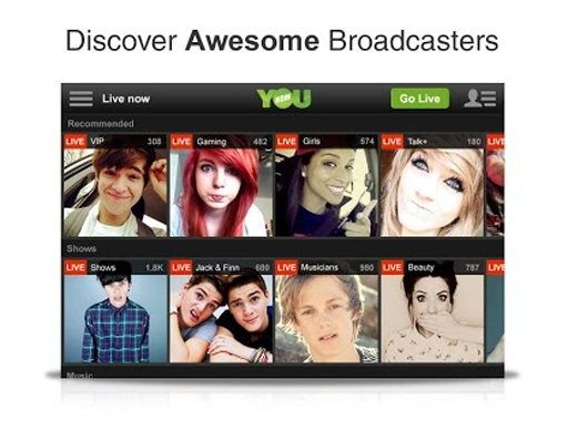 YouNow: Discover Cool People截图0