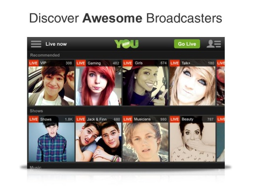 YouNow: Discover Cool People截图4