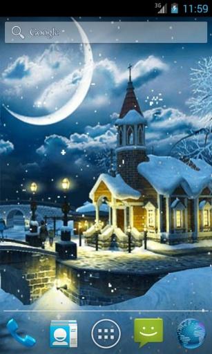 冬夜动态壁纸