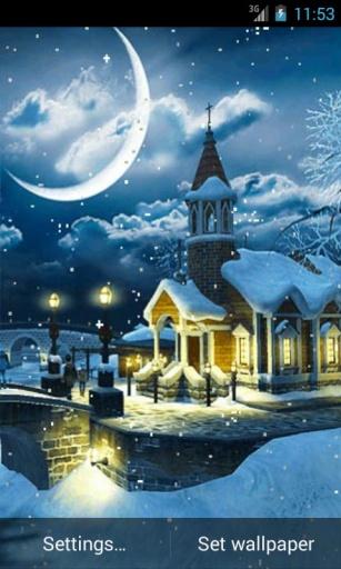 冬夜动态壁纸 玩個人化App免費 玩APPs