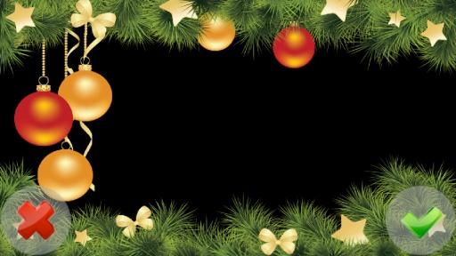 **圣诞照片帧照片艺术特点:用户友好的美丽的照片