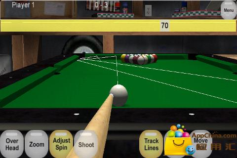 虚拟台球截图0