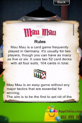 塞班移植扑克牌截图2