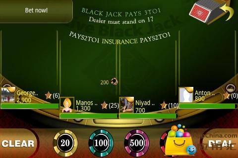 在线21点专业版|玩棋類遊戲App免費|玩APPs