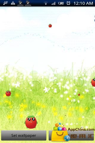 可爱的水果动态壁纸