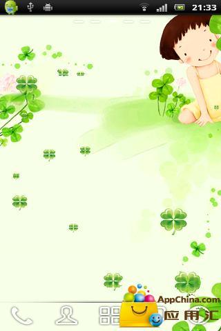 【免費個人化App】四叶草动态壁纸-APP點子