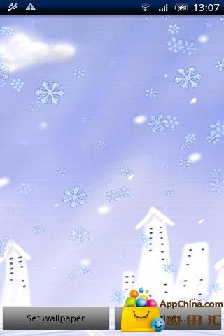 美丽的雪花动态壁纸 個人化 App-愛順發玩APP
