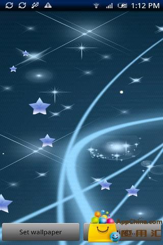 美丽的星星动态壁纸