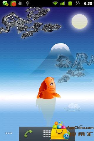 玩免費個人化APP|下載锦鲤鱼流量监控动态壁纸 app不用錢|硬是要APP