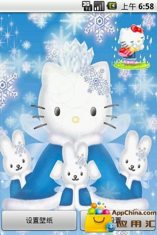 hello kitty动态壁纸 個人化 App-愛順發玩APP