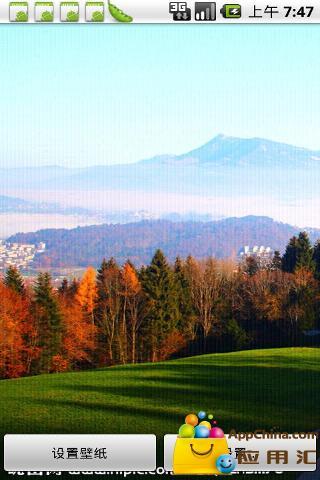 世界最美国家瑞士自然风光动态壁纸