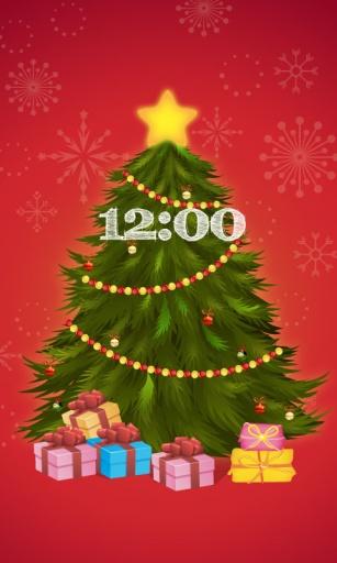 FUN主题圣诞许愿树锁屏壁纸