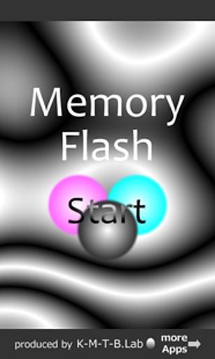 记忆力的游戏内存闪存