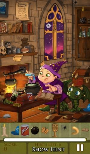 隐藏物品之巫师学校